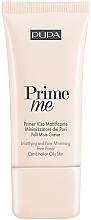 Voňavky, Parfémy, kozmetika Zmatňujúci primer - Pupa Mattifying & Pore Minimising Face Primer