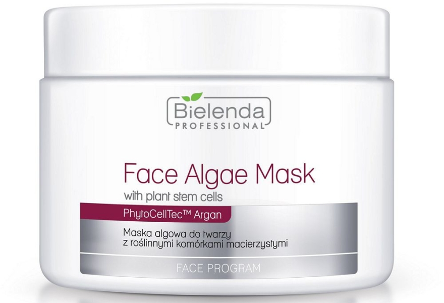 Alginátová maska na tvár s materskými bunkami - Bielenda Professional Face Algae Mask — Obrázky N1