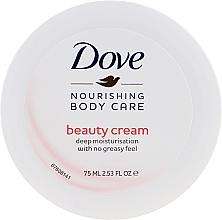 Voňavky, Parfémy, kozmetika Hydratačný krém na telo s ľahkou výživnou formulou - Dove Beauty Cream