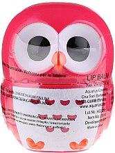 """Voňavky, Parfémy, kozmetika Balzam na pery """"sova"""", s arómou, červená - Martinelia Owl Lip Balm"""