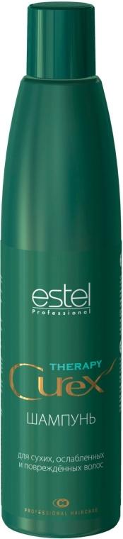Šampón pre suché, slabé a poškodené vlasy - Estel Professional Curex Therapy Shampoo