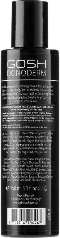 Micelárna voda - Gosh Donoderm Micellar Water — Obrázky N2