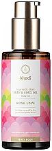 Voňavky, Parfémy, kozmetika Ajurvédsky elixírový olej pre telo   - Khadi Ayurvedic Elixir Skin & Soul Oil Rose Love