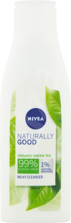 Čistiace mlieko - Nivea Naturally Good Green Tea Milky Cleanser
