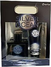 Voňavky, Parfémy, kozmetika Omerta Silver Ocean - Sada (edt/100ml + sh/gel/100ml)