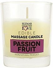 """Voňavky, Parfémy, kozmetika Prírodná masážna sviečka """"Marakuja"""" - Sezmar Collection Passion Fruit"""