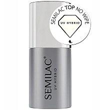 Voňavky, Parfémy, kozmetika Vrchný lak bez lepivej vrstvy - Semilac UV Hybrid No Wipe