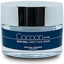 Voňavky, Parfémy, kozmetika Pánsky krém na tvár - Fontana Contarini Cocoon Restore+ Night Face Cream