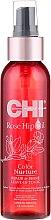 Voňavky, Parfémy, kozmetika Neoplachujúci sprej so šípkovým olejom a keratínom - CHI Rose Hip Oil Repair & Shine Leave-In Tonic
