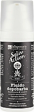 Voňavky, Parfémy, kozmetika Výživný antioxidačný fluid s ľahkou konzistenciou - La Saponaria Uomo SativAction Aftershave Fluid
