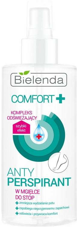 Antiperspirantový sprej na nohy - Bielenda Comfort Foot Antiperspirant Spray Mist