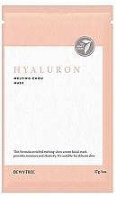 Voňavky, Parfémy, kozmetika Pleťová maska s kyselinou hyalurónovou - Dewytree Hyaluron Melting Chou Mask