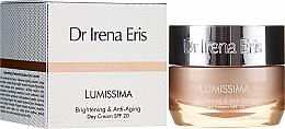 Voňavky, Parfémy, kozmetika Rozjasňujúci omladzujúci denný krém - Dr. Irena Eris Lumissima Brightening & Anti-Aging Day Cream SPF 20