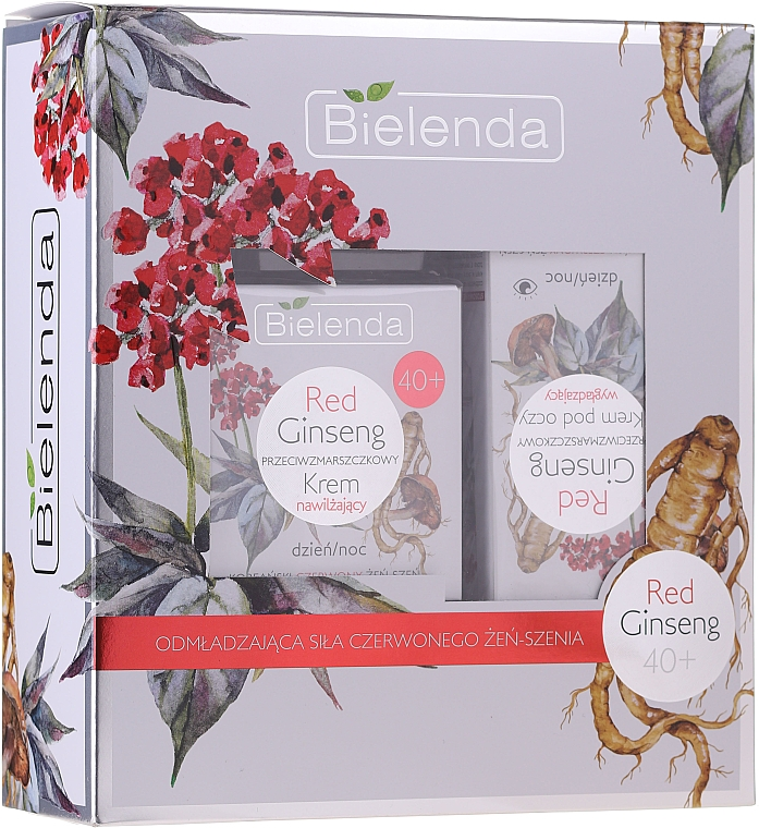 Sada - Bielenda Red Ginseng 40+ (cr/50ml + eye/cr/15ml)