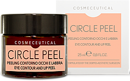 Voňavky, Parfémy, kozmetika Krém na kontúru očí a pier - Surgic Touch Circle Peel Eye Contour And Lip Peel