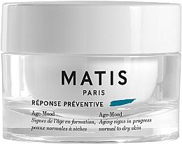 Voňavky, Parfémy, kozmetika Krém proti starnutiu pre normálnu a suchú pokožku - Matis Reponse Preventive Age-Mood