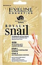Voňavky, Parfémy, kozmetika Peeling a maska na ruky - Eveline Cosmetics Royal Snail Sos Regenerating Hand Treatment