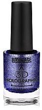 Voňavky, Parfémy, kozmetika Lak na nechty - Luxvisage 3D Holographic