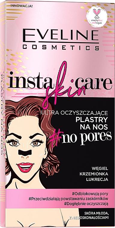 Ultra čistiace náplasti na nos - Eveline Cosmetics Insta Skin Care #No Pores