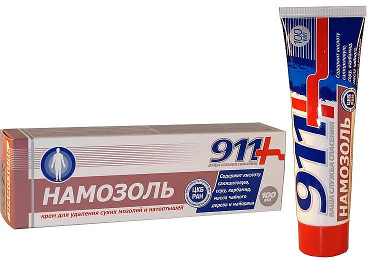 """Krém na odstránenie suchých mozoľov a otlakov """"Namozoľ"""" - 911"""