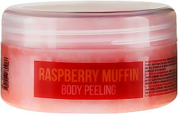"""Voňavky, Parfémy, kozmetika Scrub na telo """"Malinový keks"""" - Hristina Stani Chef'S Raspberry Muffin Body Peeling"""