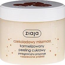 """Voňavky, Parfémy, kozmetika Cukrový peeling na tvár """"Čokoládová pralinka"""""""" - Ziaja Sugar Body Peeling"""