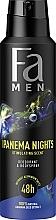 """Voňavky, Parfémy, kozmetika Dezodorant v spreji pre mužov """"Rytmy Brazílii. Ipanema Nights"""" - Fa Men"""