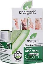 Voňavky, Parfémy, kozmetika Koncentrovaný krém z aloe vera - Dr.Organic Bioactive Skincare Aloe Vera Concentrated Cream