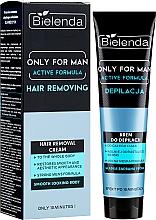Voňavky, Parfémy, kozmetika Depilačný krém - Bielenda Only For Man Active Formula Cream