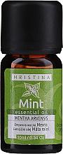 Voňavky, Parfémy, kozmetika Esenciálny olej Mäta - Hristina Cosmetics Mint Essential Oil