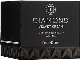 Voňavky, Parfémy, kozmetika Hydratačný krém na tvár - Frezyderm Diamond Velvet Anti-Wrinkle Cream For Ripe Skin