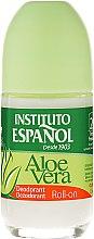 """Voňavky, Parfémy, kozmetika Guľôčkový deodorant """"Aloe Vera"""" - Instituto Espanol Aloe Vera Roll-on Deodorant"""