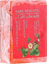 "Voňavky, Parfémy, kozmetika Glycerínové mydlo ""Čerstvé jahody"" - Le Cafe de Beaute Glycerin Soap"