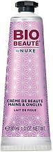 """Voňavky, Parfémy, kozmetika Krém na ruky a nechty """"Figové mlieko"""" - Nuxe Bio Beauty Hands and Nails Cream Fig Milk"""