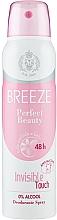Voňavky, Parfémy, kozmetika Breeze Deo Spray Perfect Beauty - Dezodorant na telo