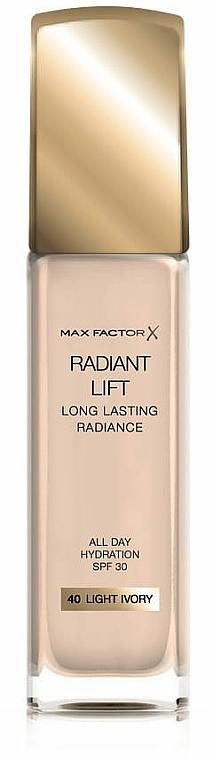 Základ pod make-up - Max Factor Radiant Lift Foundation