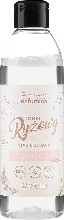 Stabilizačné výživné rýžové tonikum na tvár - Barwa Natural