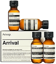 Voňavky, Parfémy, kozmetika Sada - Aesop Arrival Travel Kit (shm/50ml + cond/50ml + sh/gel/50ml + balm/50ml)