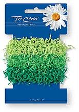 Voňavky, Parfémy, kozmetika Gumičky do vlasov 3 ks, zelené - Top Choice