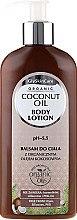 Voňavky, Parfémy, kozmetika Telový lotion s organickým kokosovým olejom - GlySkinCare Coconut Oil Body Lotion