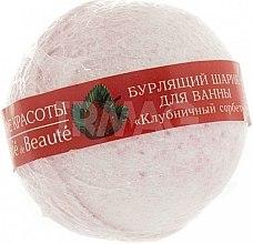 """Voňavky, Parfémy, kozmetika Bublinková guľa do kúpeľa """"Jahodový sorbet"""" - Le Cafe de Beaute Bubble Ball Bath"""