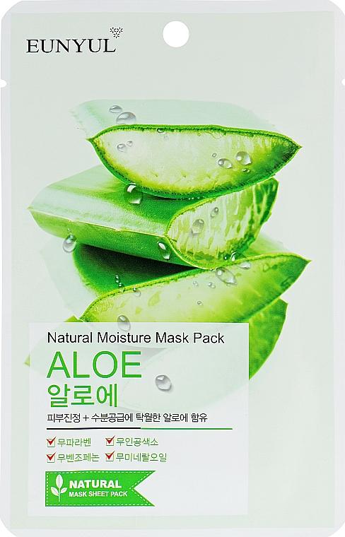 Hydratačná textilná maska s aloe vera - Eunyul Natural Moisture Mask Pack Aloe