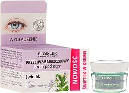 Voňavky, Parfémy, kozmetika Očný krém proti vráskam s kyselinou hyalurónovou - Floslek