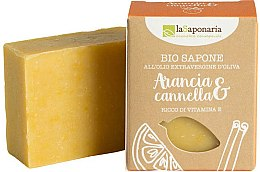 Voňavky, Parfémy, kozmetika Mydlo s extraktom z pomaranča a škorice - La Saponaria Orange & Cinnamon Soap
