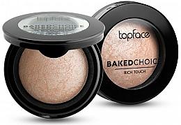 Voňavky, Parfémy, kozmetika Pečený rozjasňovač - Topface Baked Choice Rich Touch Highlighter