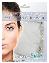 Voňavky, Parfémy, kozmetika Kolagénová maska na spevnenie ciev - Beauty Face Collagen Capillaries Strengthening Home Spa Treatment Mask