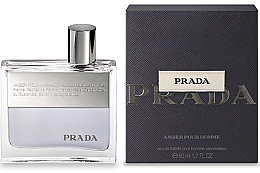 Voňavky, Parfémy, kozmetika Prada Amber Pour Homme - Toaletná voda