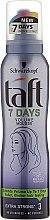 Pena na vlasový styling - Schwarzkopf Taft 7 Days Volume Mousse — Obrázky N1