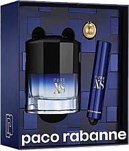 Voňavky, Parfémy, kozmetika Paco Rabanne Pure XS - Sada (edt/50ml + edt/mini/10ml)