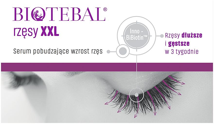 Sérum na mihalnice - Biotebal Eyelashes XXL — Obrázky N2